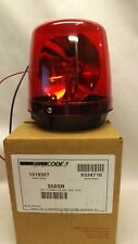 Code 3 Rotating Red Beacon Police/Fire Light/Lamp 550Sr 550-Sr