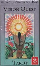 VISION QUEST TAROT - The Native American Wisdom - Gayan Sylvie Winter & Jo Dose