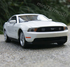 Ford Mustang GT 2012 1:32 Alloy Diecast Car Model  Muscle car Sound&Light White