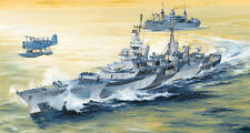 Trumpeter 05327 1/350 USS Indianapolis CA-35 1944 Plastic Model Warship Kit