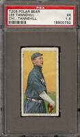 Rare 1909-11 T206 Lee Tannehill Polar Bear Back Chicago PSA 1.5 Undergraded