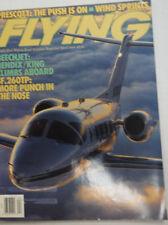 Flying Magazine Beehcjet Bendix April 1988 AL 053015R