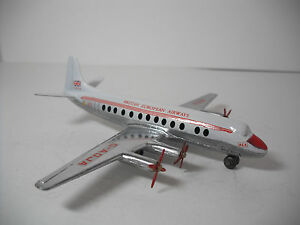 MECCANO DINKY TOYS #708-G VICKERS VISCOUNT AIRLINER RESTORED NEAR MINT B.E.A.