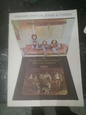 Crosby stills Nash and young music book written notation chords and lyrics