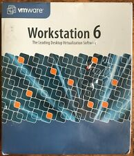 VMware Workstation 6 Desktop Virtualization Software Factory Sealed! Brand NEW