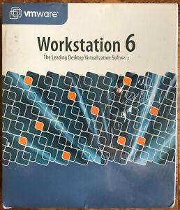 VMware Workstation 6 Desktop Virtualization Software Factory Sealed! Brand NEW