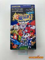 CHO MAKAIMURA Super Ghouls'n Ghosts Nintendo Super Famicom SFC JAPAN Ref:315384