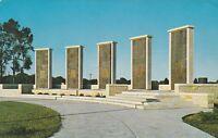 """*Kansas Postcard-""""The Eisenhower Center"""" ...Memorial Pylons- /Abilene/"""