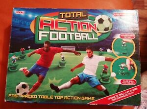 IDEAL TOTAL ACTION FOOTBALL TABLE TOP ACTION GAME 2016 LOVELY CONDITION