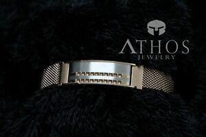 Bracelet  Brand New Men S Black  Rose Gold Stainless  Stell  Magnetic Clasp