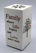 LED Nightlight with Inspirational Message for Loved Ones