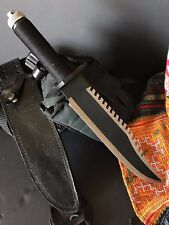 Rambo First Blood Part II Survival Knife …with Survival kit in handle + U.S. Mil