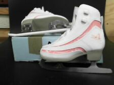 American Athletic 516 Pink Candy Ice Skates Girls/Youth Size 12 (Preowned)