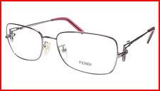 ea969d869ac FENDI Eyeglasses Frame F682R (660) Women Metal Purple Italy Made 55-16-