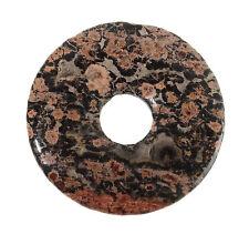 LEOPARDEN-JASPIS Donut 30mm Anhänger / JASPER Donut DO995