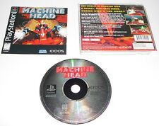 Machine Head (Sony PlayStation PS1, 1997) Complete! Cleaned & Tested VGC