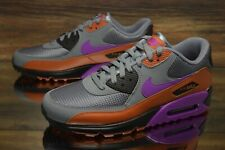 best website d7871 79af1 Nike Air Max 90 Essential Running Shoes Gray Russett Purple AJ1285-013 Men s  NEW