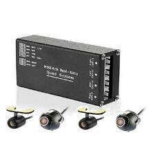 4 Way Car Cameras Switch Control Box Channel For Front Rear Right Left