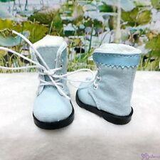 Mimiwoo Yo SD 1/6 BJD Doll Shoes Cloth Boots Blue (for Foot 4.5cm long)