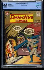 Detective Comics #247 CBCS GD+ 2.5 Off White