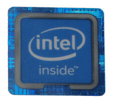 Intel Inside Logo Label Aufkleber Sticker Blau 18x18mm