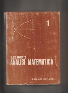 ANALISI MATEMATICA 1 - S.CORONATO -  ANNO 1970