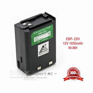 12V 1650mAh EBP-22 EBP-22N Battery for ALINCO DJ-180 DJ-480 DJ-580 DJ-582