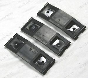 1968-71 Lincoln Mark III Rocker Molding Plastic Clip, Clips (3) NEW