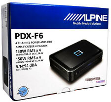 Alpine PDX-F6 4 Channel 150W RMS x 4  Car Amplifier Class-D Amplifier Design