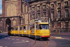 542091 DUWAG werkspoor articulé tram Amsterdam Pays-Bas A4 papier photo