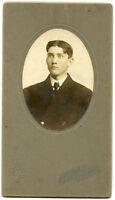 Antique Photo-SPRINGER Family-Bloomington, Illinois Man