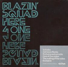 BLAZIN' SQUAD - Here 4 One (UK 6 Tk Enh CD Single/Poster)