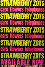 STRAWBERRY ZOTS POSTER, CARS FLOWERS TELEPHONES   (R5)