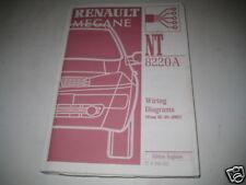 Wiring Diagrams Renault Megane, Stand 09/2002