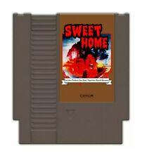 Sweet Home NES English Translation Reproduction Cart