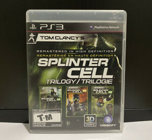 Tom Clancy's Splinter Cell: Trilogy (PlayStation 3) PS3 Complete GREAT DISC
