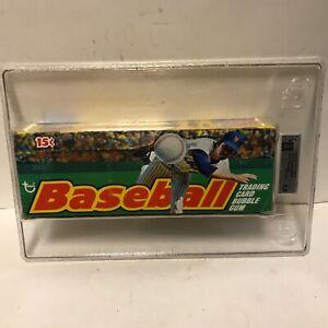1975 Topps Baseball Wax Box GA Graded and Authenticated Very Nice