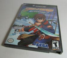 Skies of Arcadia Legends (Nintendo GameCube, 2003) Fun RPG Game Nice Shape