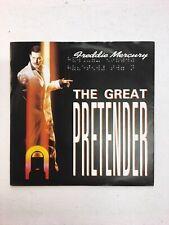 "FREDDIE MERCURY 7"" SINGLE 1987 "" The Great Pretender UK 1st NM / RARE BRAILLE"