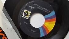 "CHELO - Las Mananitas de Chelo / Paloma Sin Nido 1981 MUSART Ranchera 7"""