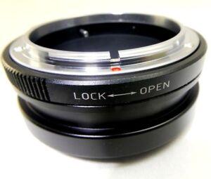Canon FD FL Lens mount adapter to Nikon Z 6 7 Full frame Mirrorless Camera