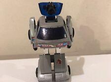 G1 Transformers Crankshaft - Silver / Gray Autobot Car - Gen1 - Missing Head