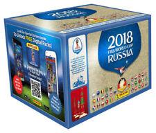 Panini WM 2018 Russia World Cup Sticker 100 Tüten Booster ohne Display
