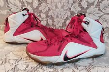 Nike Lebron XII 684593 601 Heart of a Lion University Red/Black-White-Hyper 10.5