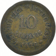 COIN / PORTUGAL / 10 CENTAVOS 1926     #WT17036