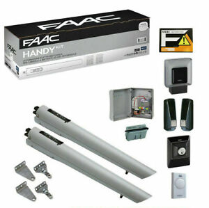 Faac Handy Kit S418 Automation Automatism Gate Panel 2 Swing 105998 24V