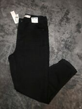 TOPSHOP MOM High Waisted/ Tapered Leg JEANS Size UK 12 W30 L32 ~Black~ New