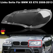 Links Seite Klar Scheinwerferglas Für BMW X5 E70 08-13 Streuscheiben Abdeckung