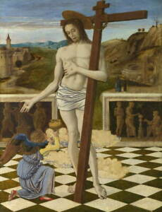 Giovanni Bellini The Blood of the Redeemer Poster Giclee Canvas Print