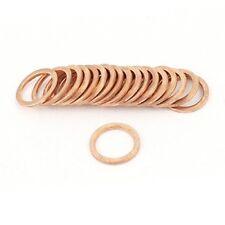 junta arandela cobre plana 14MM ( 14X20X1.5 ) Set 10 uds JUC14